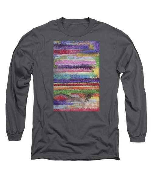 Long Sleeve T-Shirt featuring the painting Perspective by Jacqueline Athmann