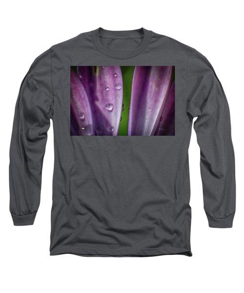 Petals And Drops Long Sleeve T-Shirt