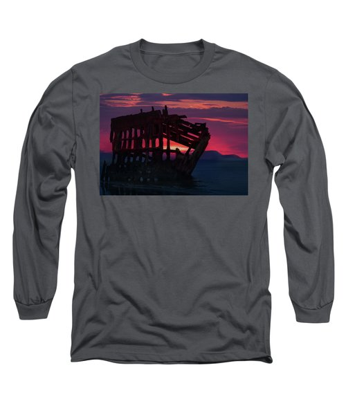 Peter Iredale Shipwreck Long Sleeve T-Shirt