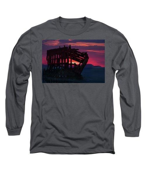 Peter Iredale Shipwreck Long Sleeve T-Shirt