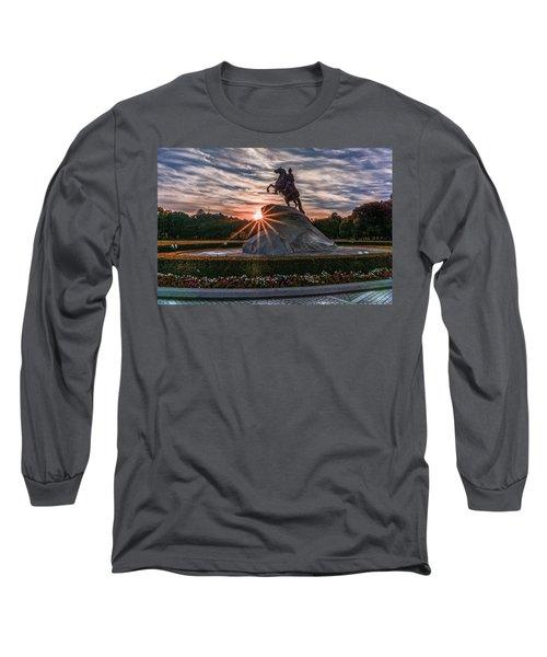 Peter Rides At Dawn Long Sleeve T-Shirt