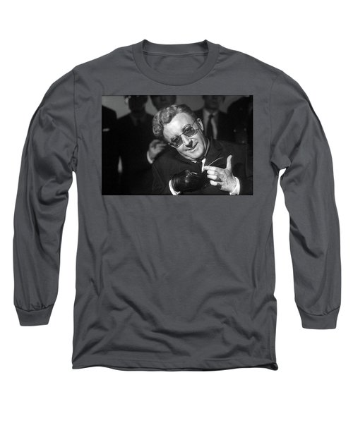 Peter Sellers As Dr. Strangelove Number One Color Added 2016 Long Sleeve T-Shirt