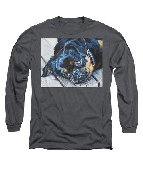 Petit Brabancon Brussels Griffon Long Sleeve T-Shirt by Lee Ann Shepard