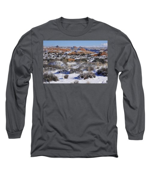 Petrified Dunes At Arches National Park Long Sleeve T-Shirt