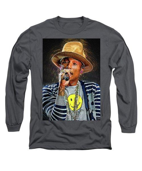 Pharrell Williams Long Sleeve T-Shirt