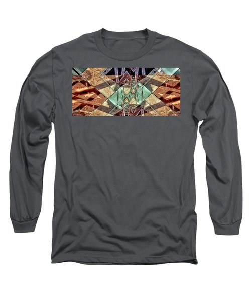 Long Sleeve T-Shirt featuring the digital art Phasmids by Ron Bissett