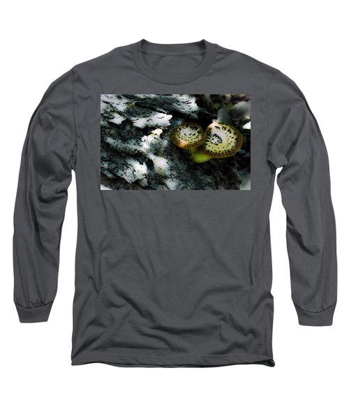 Pheasant Back Wild Mushroom Long Sleeve T-Shirt