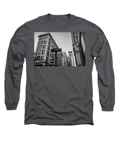 Philadelphia Urban Landscape - 0980 Long Sleeve T-Shirt