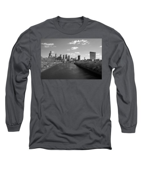 Philly B/w Long Sleeve T-Shirt