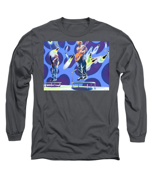 Phish Tramps Long Sleeve T-Shirt by Joshua Morton