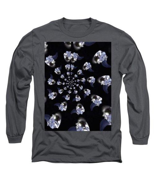 Phone Case Designs Long Sleeve T-Shirt by Debra     Vatalaro