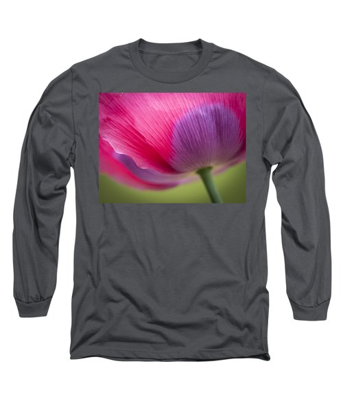 Poppy Close Up Long Sleeve T-Shirt
