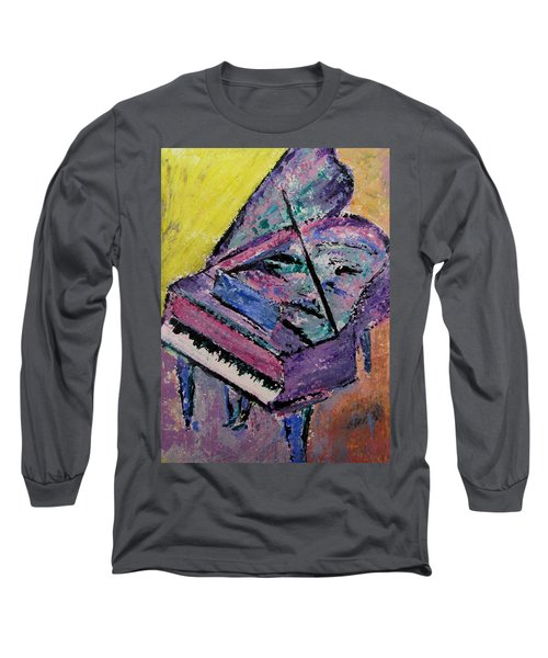 Piano Pink Long Sleeve T-Shirt