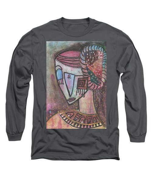 Picasso Inspired Long Sleeve T-Shirt