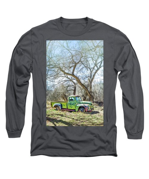 Pickup Under A Tree Long Sleeve T-Shirt