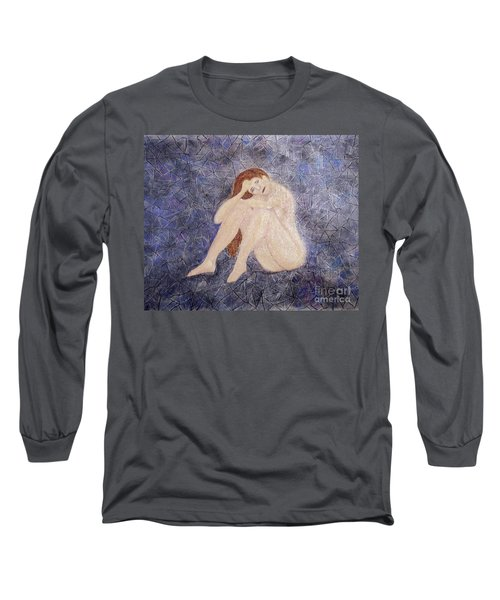 Long Sleeve T-Shirt featuring the painting Pieces Of Me by Desiree Paquette
