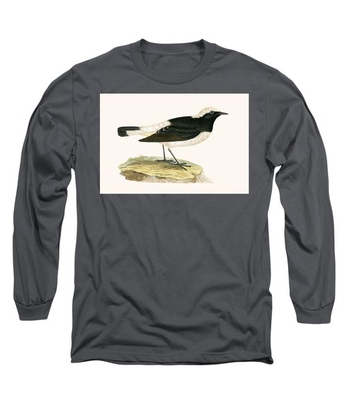 Pied Wheatear Long Sleeve T-Shirt by English School