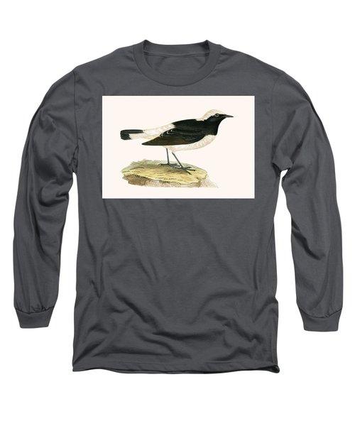 Pied Wheatear Long Sleeve T-Shirt