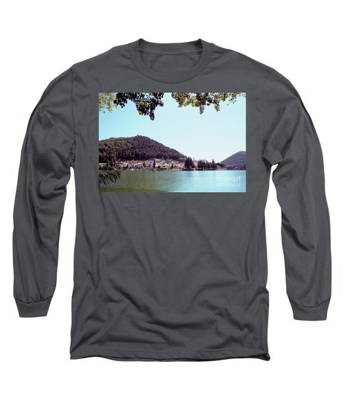 Piediluco And Piediluco Lake Long Sleeve T-Shirt