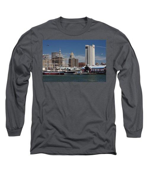 Pier 17 Nyc Long Sleeve T-Shirt