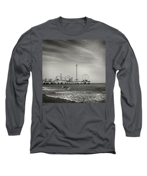 Pier 2 Long Sleeve T-Shirt by Sebastian Mathews Szewczyk