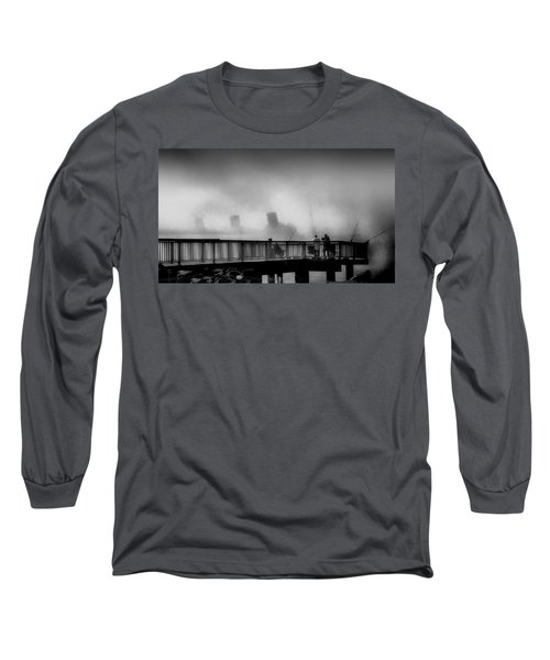 Pier Fishing Q M Long Sleeve T-Shirt