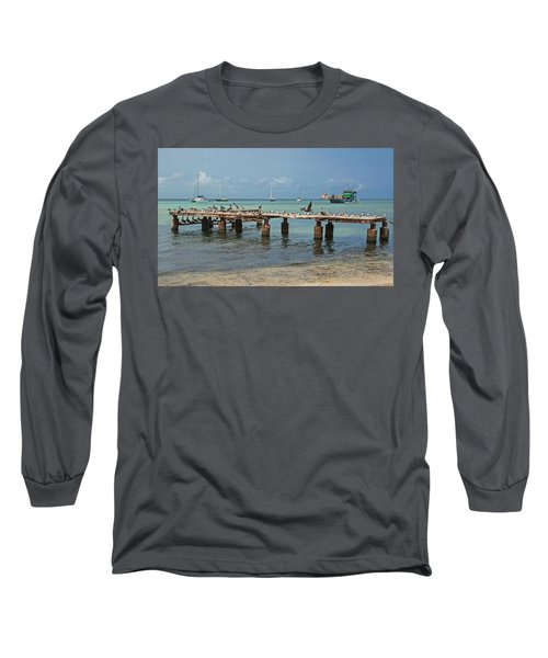 Pier For Birds Long Sleeve T-Shirt