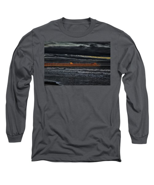 Pier Into Darkness Long Sleeve T-Shirt