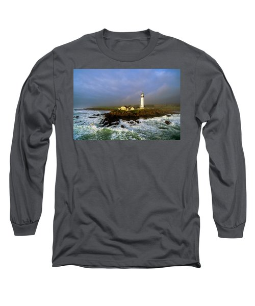 Long Sleeve T-Shirt featuring the photograph Pigeon Point Lighthouse by Evgeny Vasenev