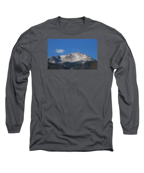 Pikes Peak Long Sleeve T-Shirt by Christopher Kirby