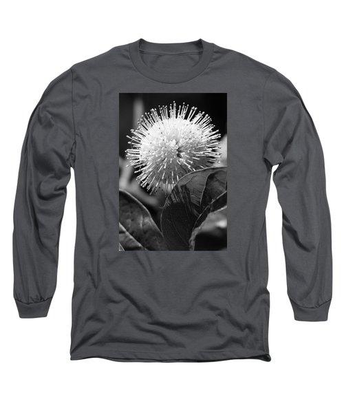 Pin Flower Long Sleeve T-Shirt