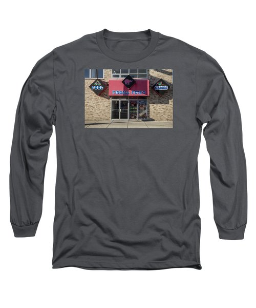 Pinball Pete's East Lansing  Long Sleeve T-Shirt