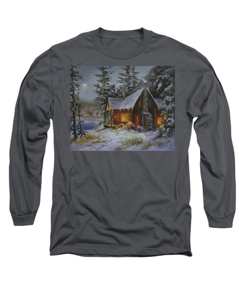 Pine Cove Cabin Long Sleeve T-Shirt
