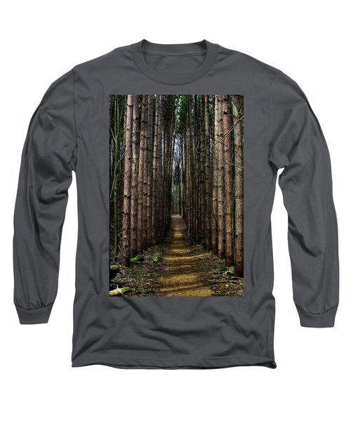 Pine Path  Long Sleeve T-Shirt