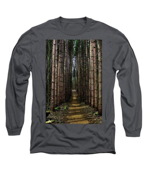 Pine Path  Long Sleeve T-Shirt