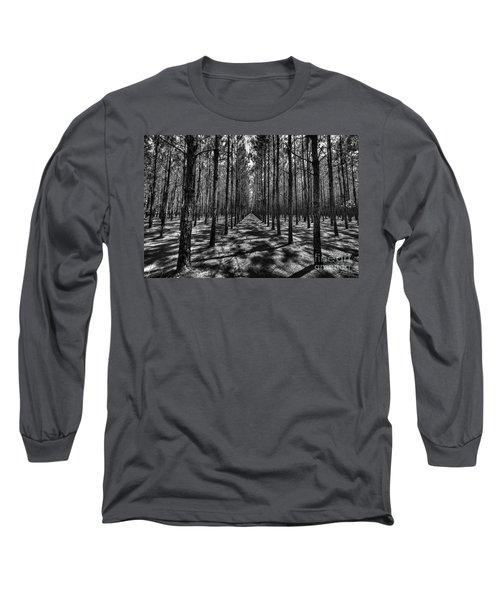 Pine Plantation Wide Long Sleeve T-Shirt