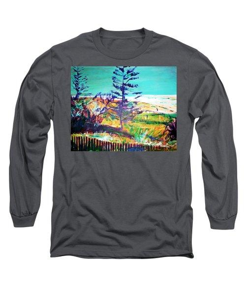 Pine Tree Pandanus Long Sleeve T-Shirt