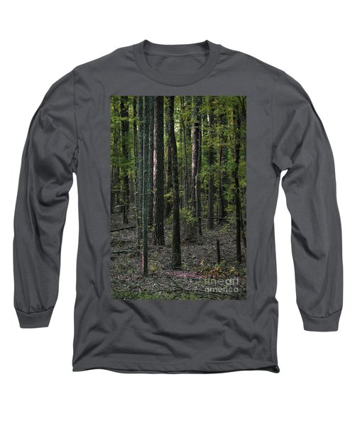 Long Sleeve T-Shirt featuring the photograph Pine Wood Sunrise by Skip Willits