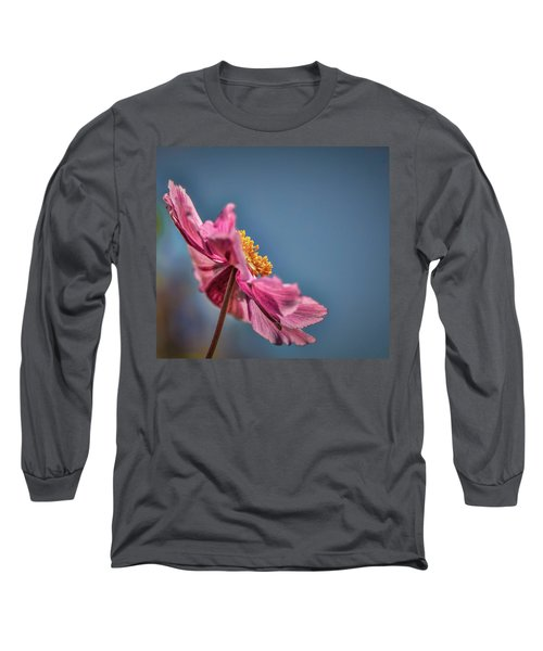 Pink And Yellow Profile #h8 Long Sleeve T-Shirt