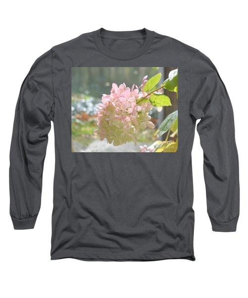 Pink Bloom In Sun Long Sleeve T-Shirt
