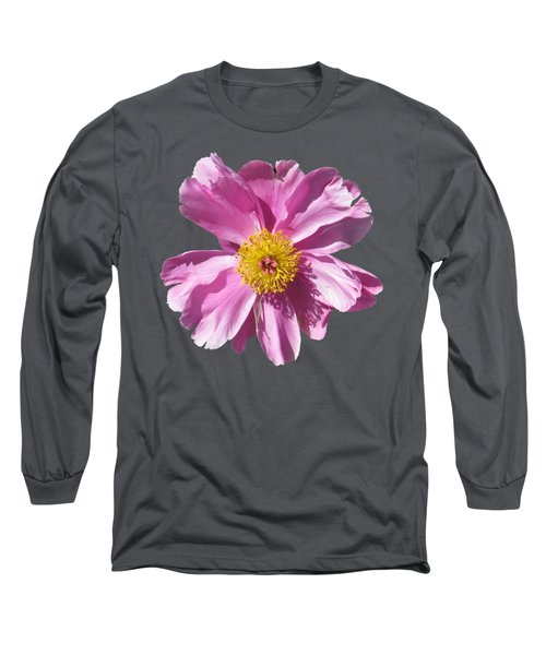 Pink Burst Long Sleeve T-Shirt