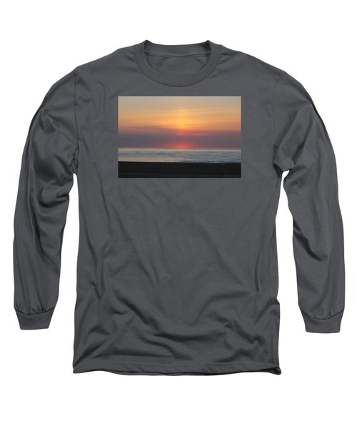 Pink Dawn Long Sleeve T-Shirt by Robert Banach