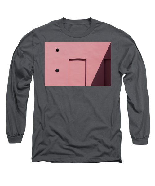 Pink Emoji Long Sleeve T-Shirt