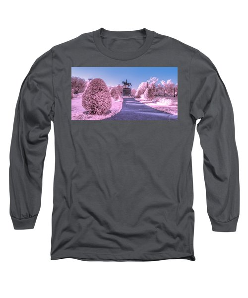 Pink Garden Long Sleeve T-Shirt
