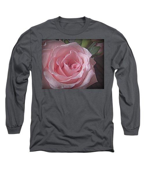 Pink Rose Bliss Long Sleeve T-Shirt