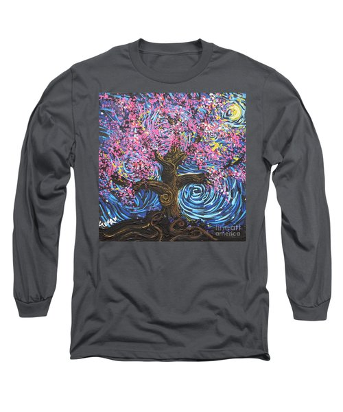 Pinky Tree Long Sleeve T-Shirt