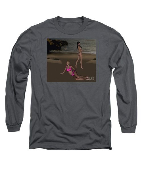 Pinups At Dusk Long Sleeve T-Shirt
