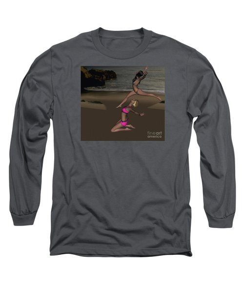 Pinups Dancing Long Sleeve T-Shirt