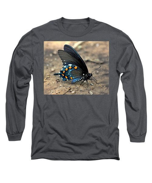 Pipevine Swallowtail Close-up Long Sleeve T-Shirt