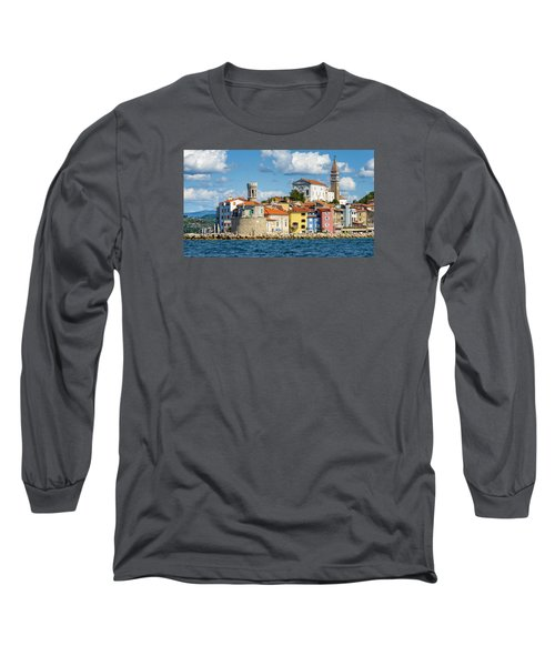 Piran Long Sleeve T-Shirt by Robert Krajnc